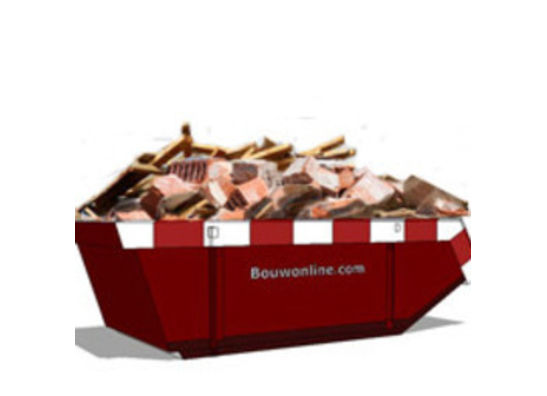 Bouwafval container