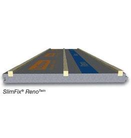 Isobouw® SlimFix dakplaat Reno+ 129 mm