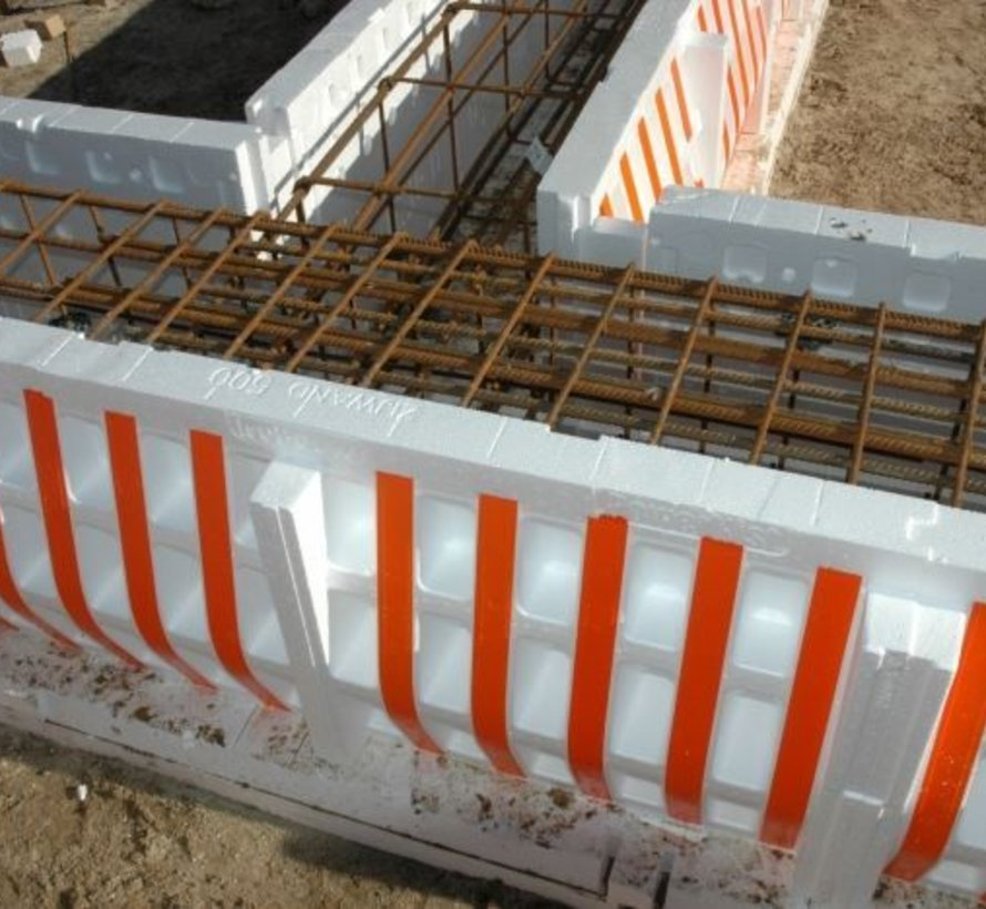 Isobouw® Powerkist funderingsbekisting 350 x 450 x 1200mm