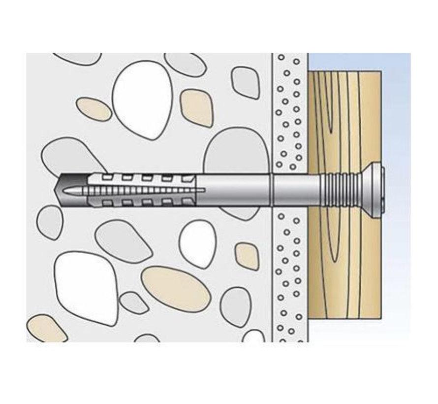 Nagelpluggen 8 x 100 mm (50 stuks)