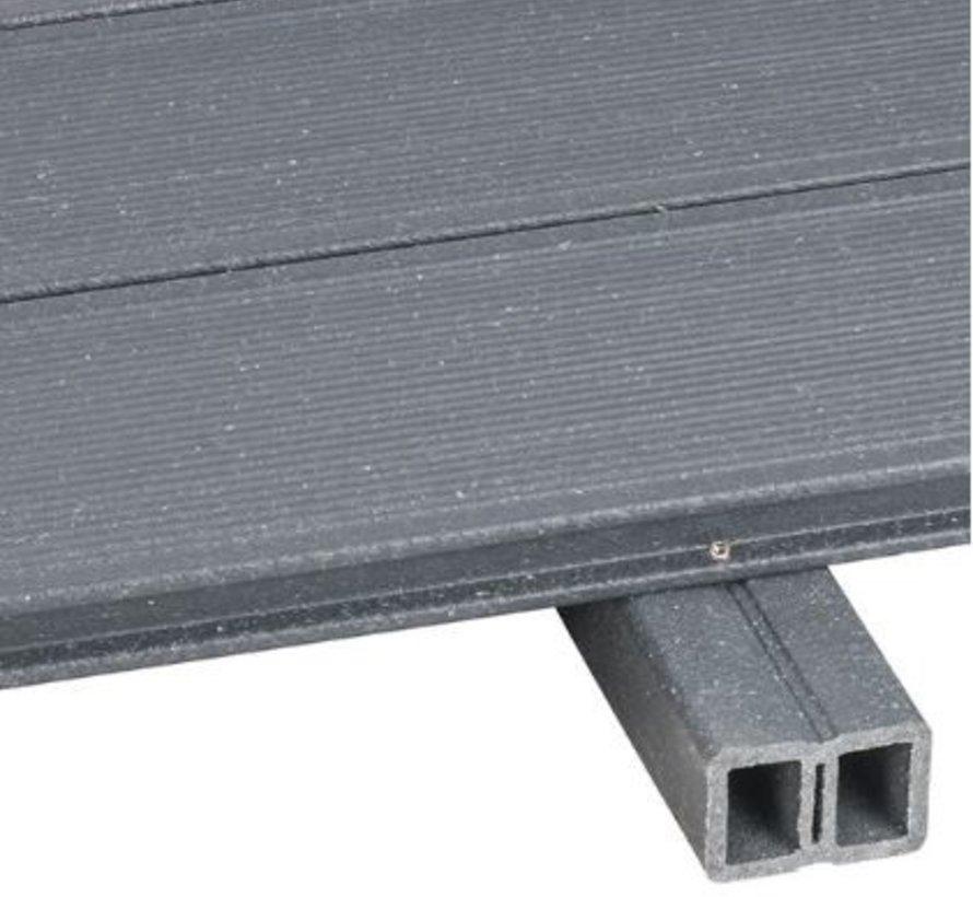UPM montagebalk steengrijs 40 x 60 mm 4000 mm