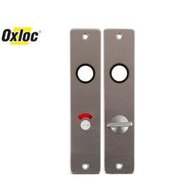 Oxloc Oxloc® kortschild vrij / bezet WC F1 (incl. patentbout)