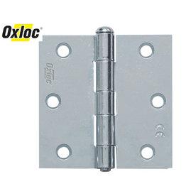 Oxloc® scharnier 76 x 76 mm recht verzinkt