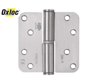 Oxloc® kogelstiftpaumelle 89 x 89 mm rond RVS DIN