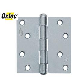 Oxloc® scharnier 89 x 89 mm recht verzinkt
