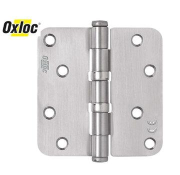 Oxloc® kogellagerscharnier 89 x 89 mm rond RVS