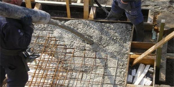 Beton storten broodjesvloer combinatievloer