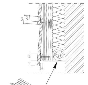 Onder Ventilatie Profiel - Eternit Cedral Wood
