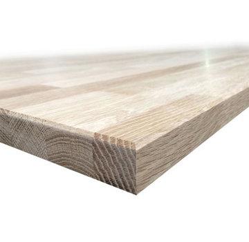 Wandplank Eiken 40mm - 20cm breed