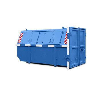 Houtafval container 9m³ gesloten