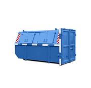 Bouwafval container 9m³ gesloten