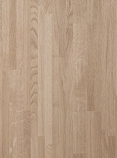 Massief houten werkblad Eiken A/B (gevingerlast)38mm 300x90cm