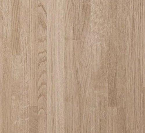 Bouwonline Massief houten werkblad Eiken A/B 27mm 420x62cm