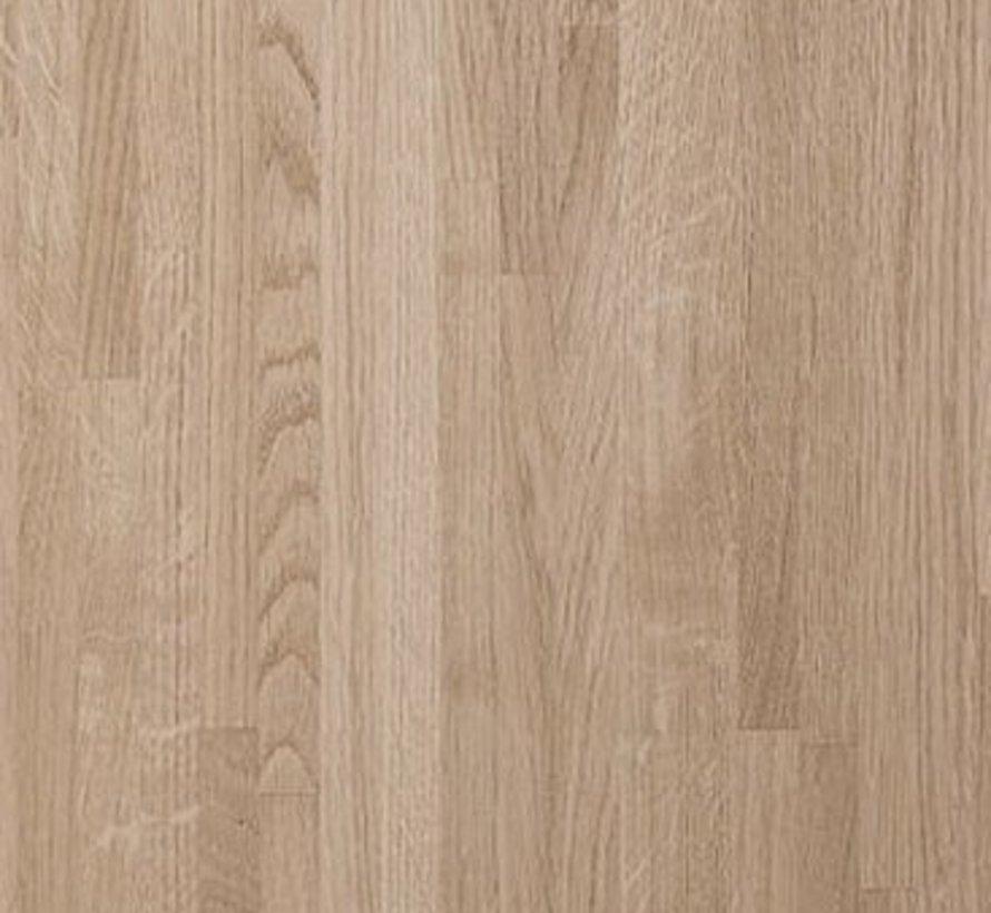 Massief houten werkblad Eiken A/B 27mm 210x62cm