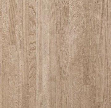 Massief houten werkblad Eiken A/B (gevingerlast)27mm 150x62cm