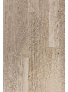Massief houten werkblad Eiken Rustiek (gevingerlast)38mm 420x62cm