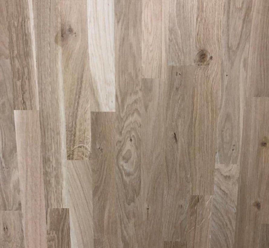 Massief houten werkblad Eiken Rustiek 38mm 300x62cm