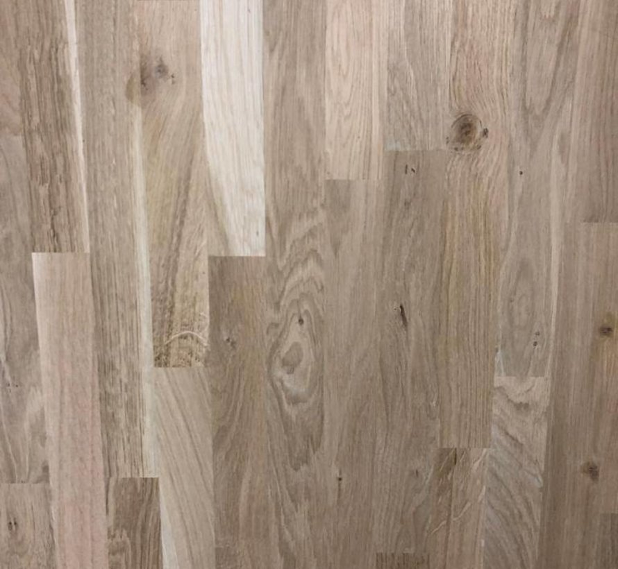 Massief houten werkblad Eiken Rustiek 27mm 210x90cm