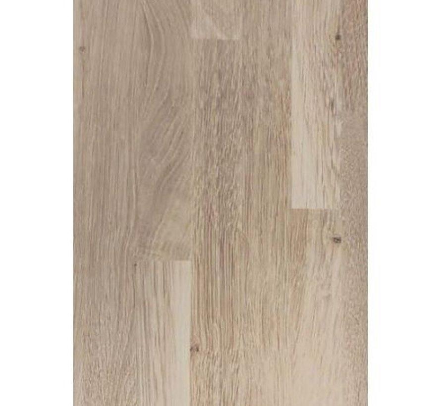 Massief houten werkblad Eiken Rustiek 19mm 210x62cm