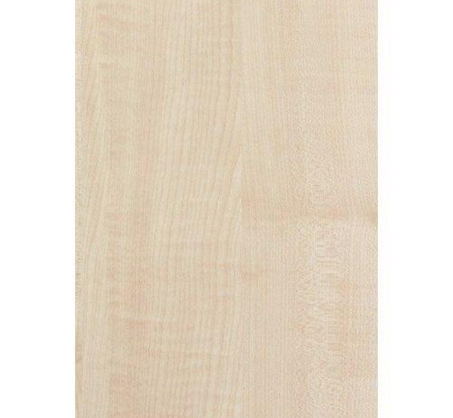 Massief houten werkblad Ahorn (gevingerlast)38mm 420x60cm