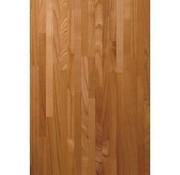 Massief houten werkblad Kersen (gevingerlast)27mm 420x92cm