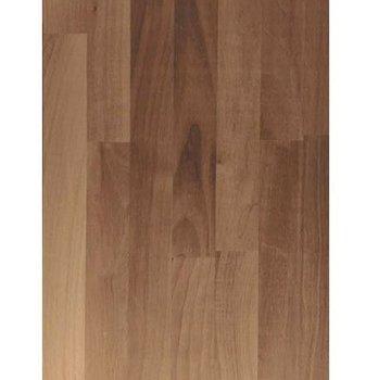 Bouwonline Massief houten werkblad Noten 19mm 210x92cm