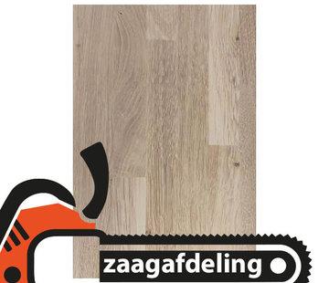 Massief houten werkblad Eiken Rustiek (gevingerlast)