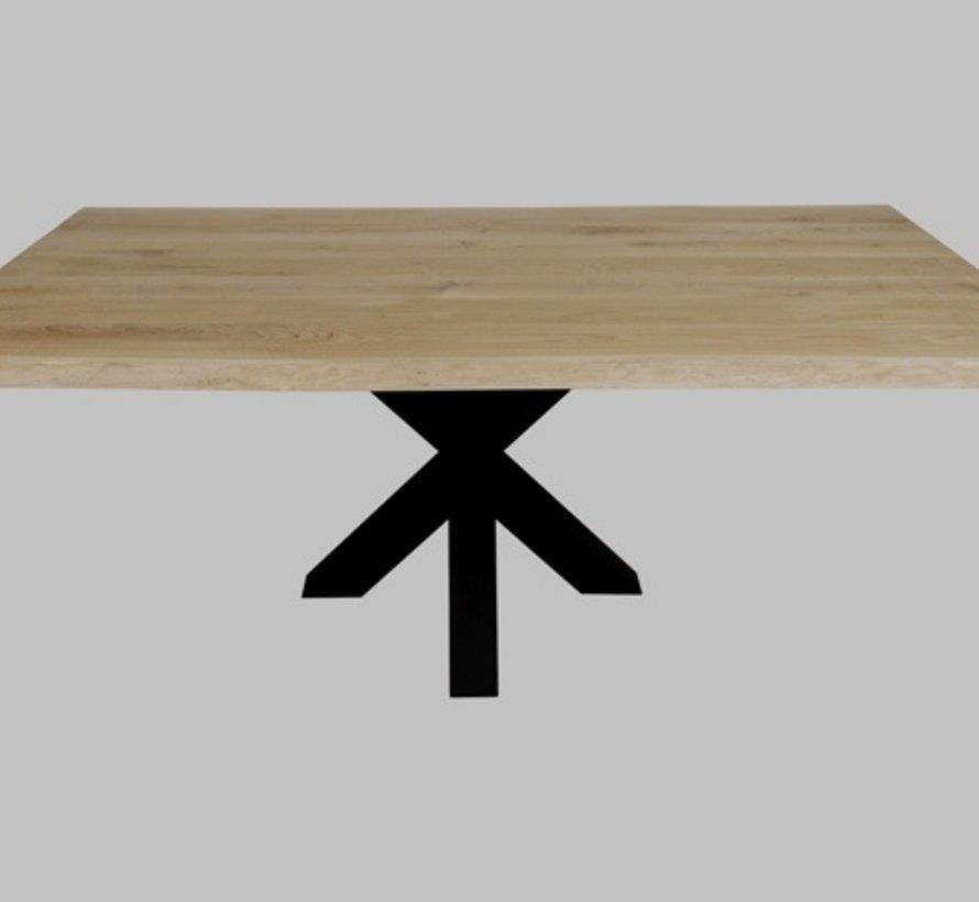 Eiken boomstam tafelblad - 40mm dik