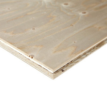 Underlayment Fins vuren 18 mm 244 x 61cm - mes & groef rondom