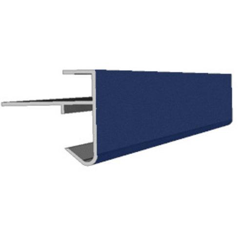 Daktrim aluminium 45 x 45 mm lengte 250cm  op kleur
