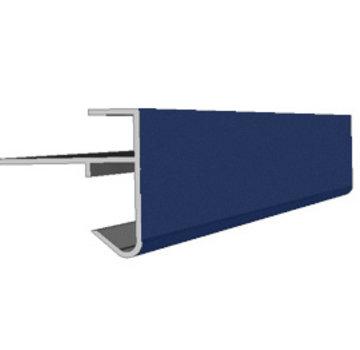 Daktrim aluminium 80 x 64 mm lengte 250cm op kleur