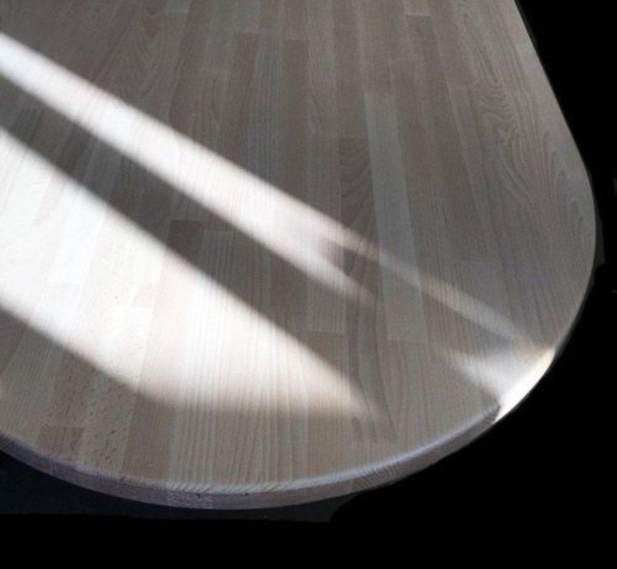 Massief houten werkblad Beuken 38mm 210x90cm