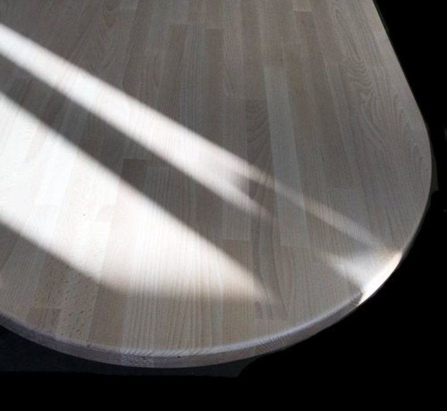 Massief houten werkblad Beuken 38mm 150x62cm