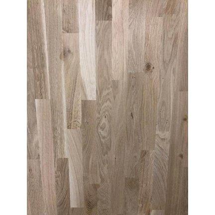 Massief hout Eikenwerkblad Rustiek 19mm