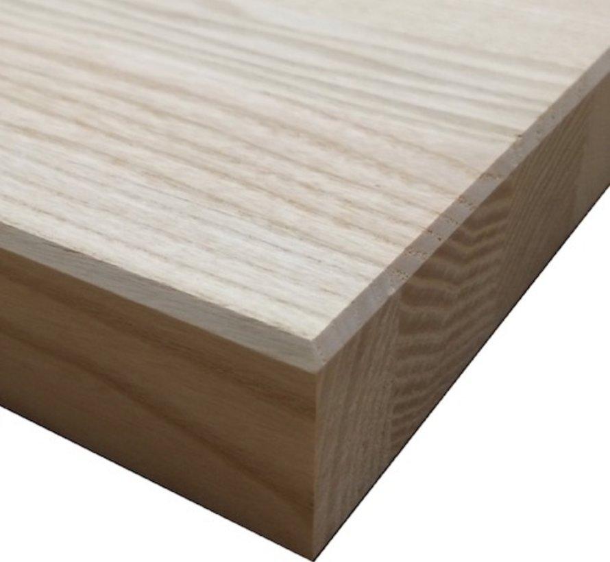 Massief houten werkblad Essen 27mm 210x64cm