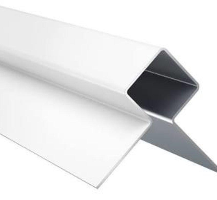 Eterniet Cedral Wood aluminium buitenhoek profiel