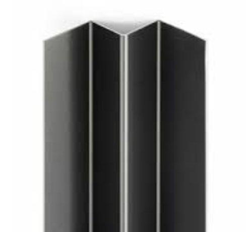 Bouwonline Eterniet Cedral Wood aluminium binnenhoek profiel