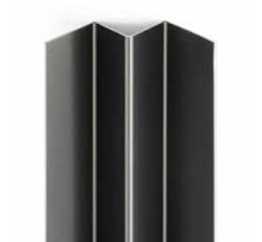 Eterniet Cedral Wood aluminium binnenhoek profiel