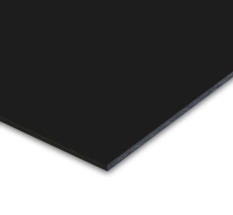 ISIcompact kunststof gevelplaat Zwart