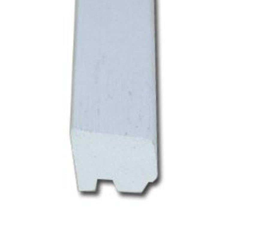 Glaslat 20 x 25 mm C2 meranti hardhout 400cm