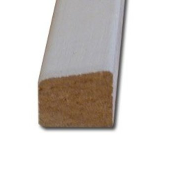 Glaslat 17 x 19 mm A10 meranti hardhout 400cm