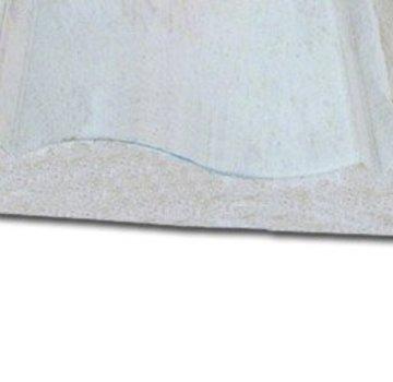 Gootlijst 28 x 145 mm meranti hardhout 460cm