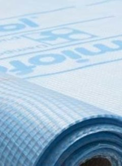 Miofol® bouwfolie 125G dampopen 75m² (Blauw)