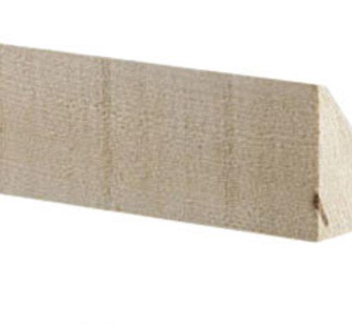 Mastiekschroot 75 x 75 mm lengte 420cm