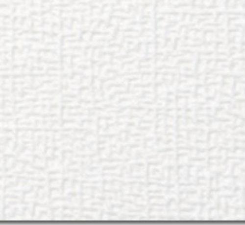 Agnes® plafondlijsten wit linnen 2600 x 44 x 8 mm (2 stuks)