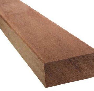 Hardhout geschaafd dikte 45 mm