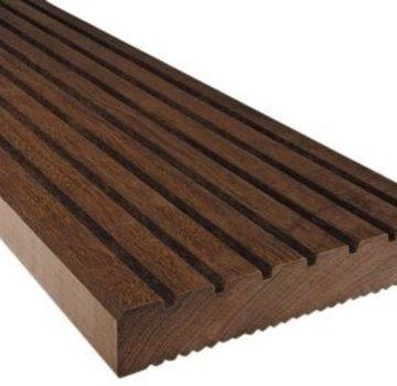 Vlonderplank hardhout azobe 32 x 140 mm 550cm