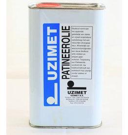 Uzimet Uzimet patineerolie voor lood (1 liter)
