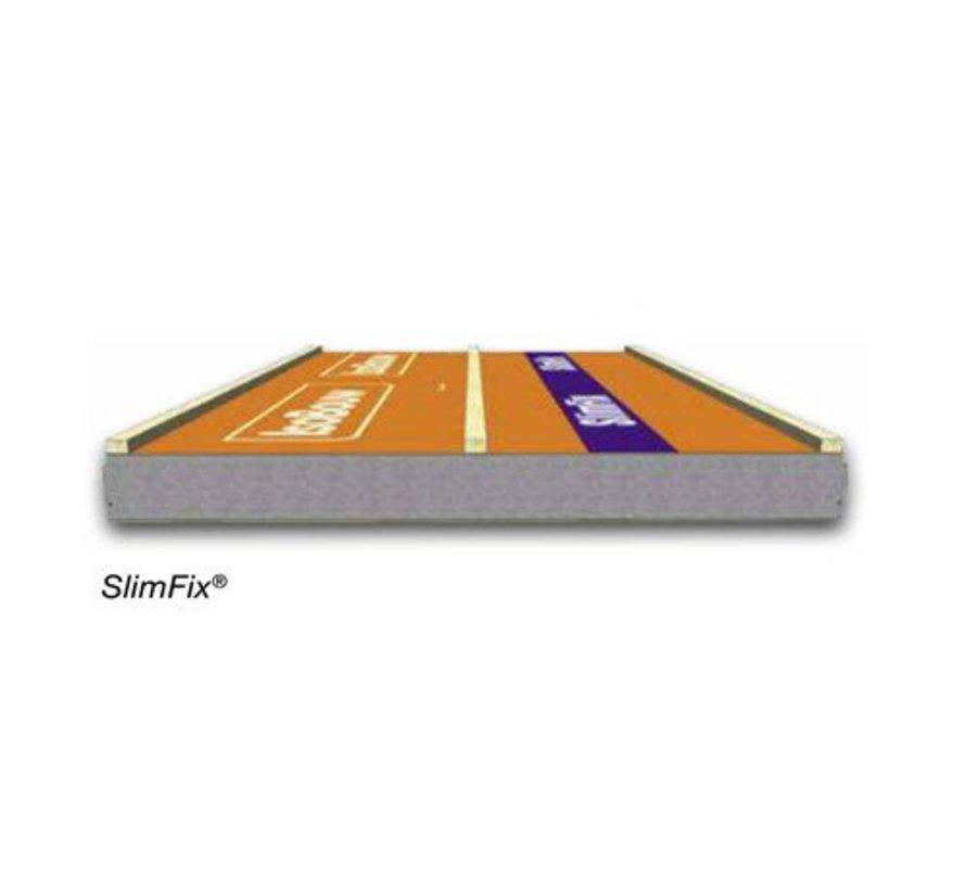 Isobouw® SlimFix dakplaat 2.5-3/3 Incl. zagen op maat en incl. transport.