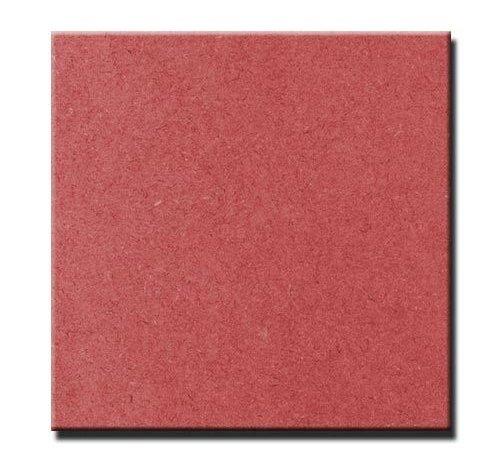 Valchromat® MDF gekleurd rood door en door 19 mm 244 x 122cm